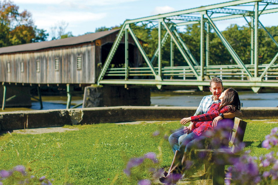 Harpersfield Covered Bridge (photo by Carl A. Stimac)