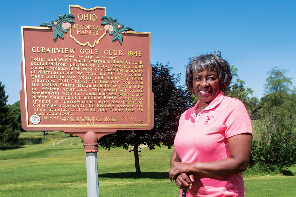Clearview Golf Club, Renee Powell (photo by Ken Blaze)