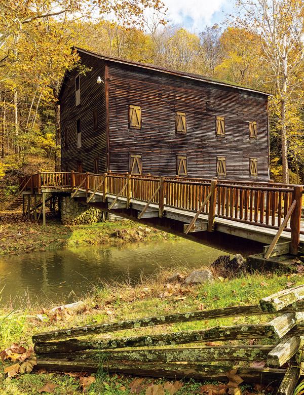 Creek Pine Run Grist Mill (photo by Carl Stimac)