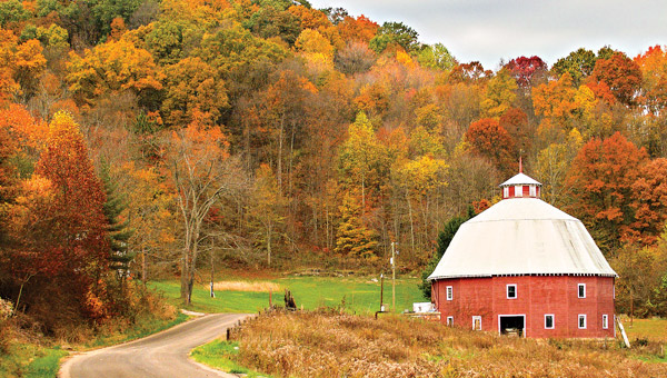 16-Sided Barn (photo by  Larry Cunningham)