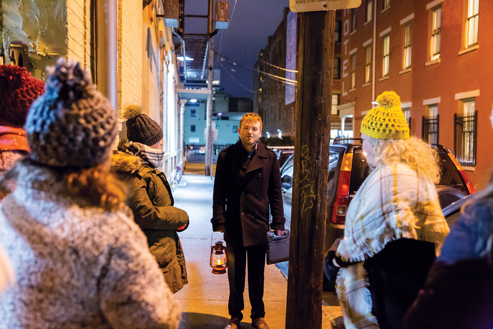 Ghost Tours Haunted Cincinnati Guide (photo by Matthew Allen)