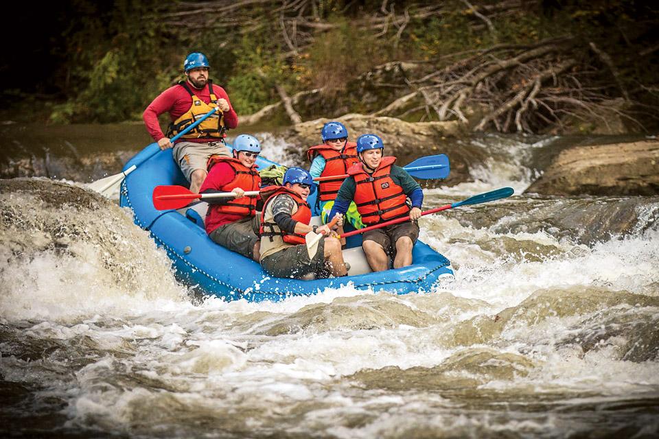 Kentucky Elkhorn City White Water Rafting (photo copyright Kentucky Whitewater, Kyle Koeberlein)
