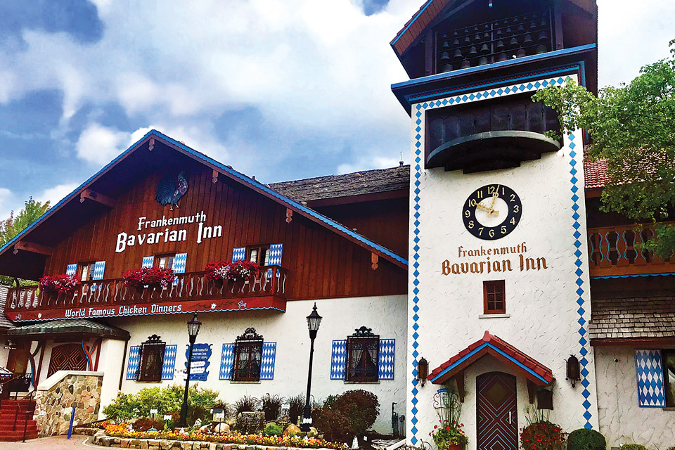 Michigan Bavarian Inn (photo courtesy of the Bavarian Inn)