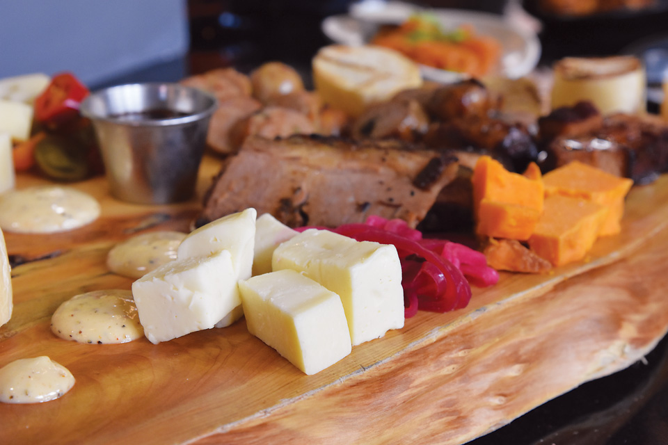 Charcuterie board at The Garrison in Fremont