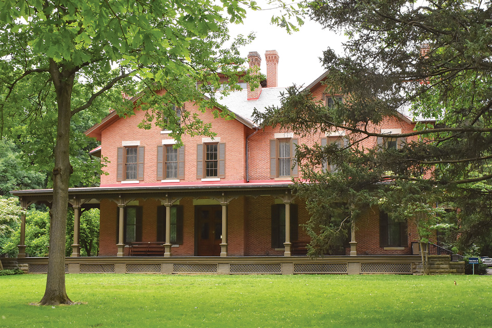 Fremont's Rutherford B. Hayes home