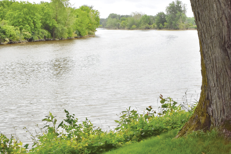 The Sandusky River is popular with Fremont residents and visitors