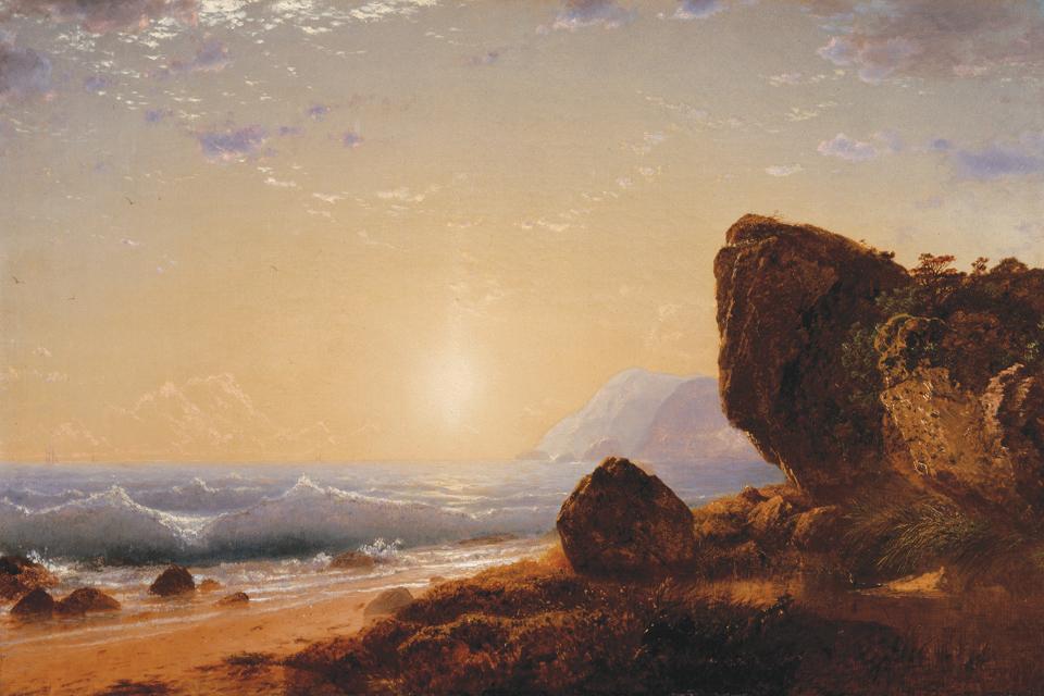 Kensett_Sunset_on_the_Coast