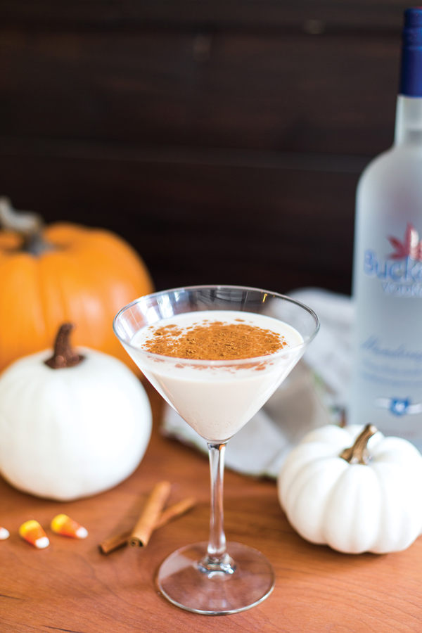 Pumpkin Spice Martini (photo courtesy of Buckeye Vodka)