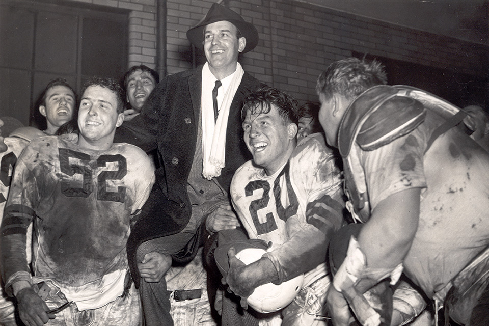 Paul Brown is showcased at the Massillon Museum