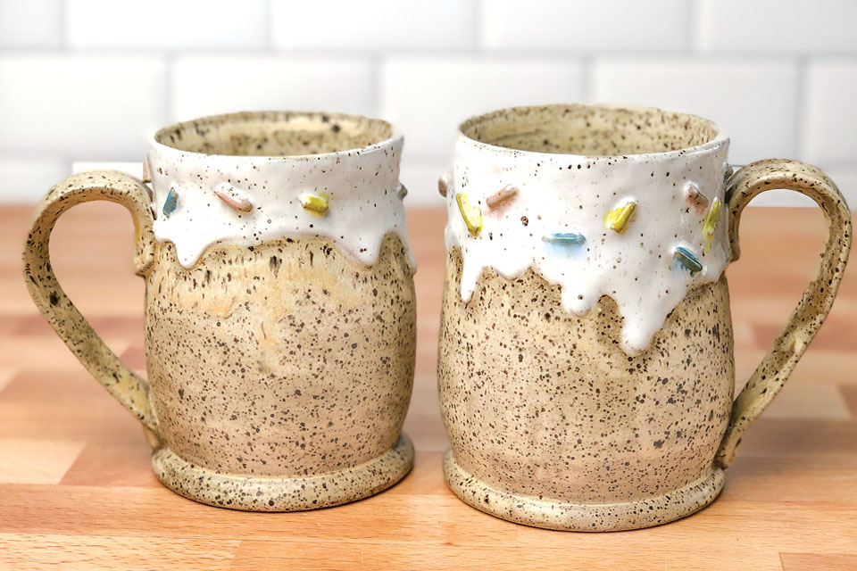 Ice and Dust Mugs