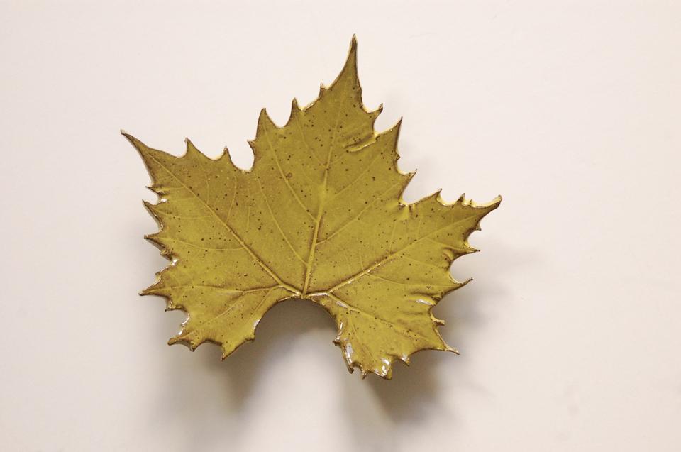 C. McDonough Ceramic Leaf