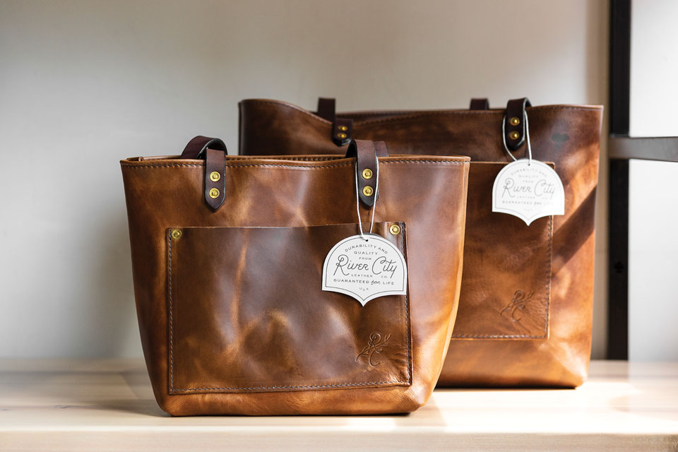 River City Leather Bags