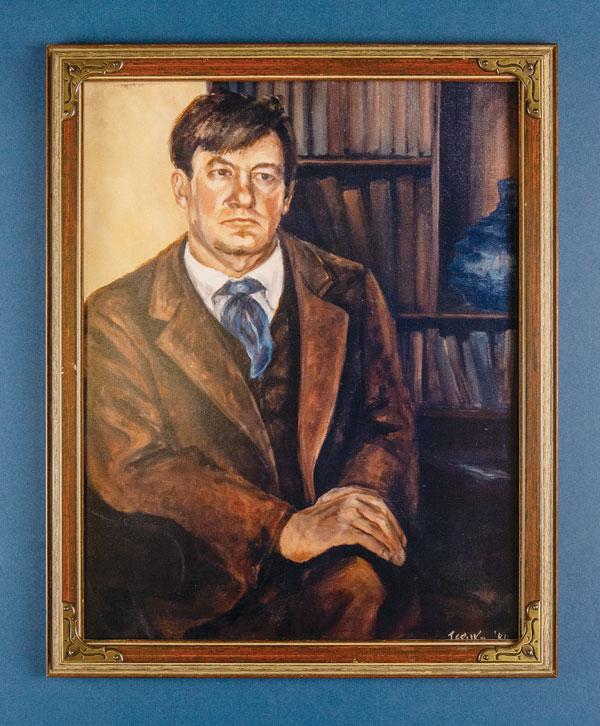 Sherwood Anderson Portrait