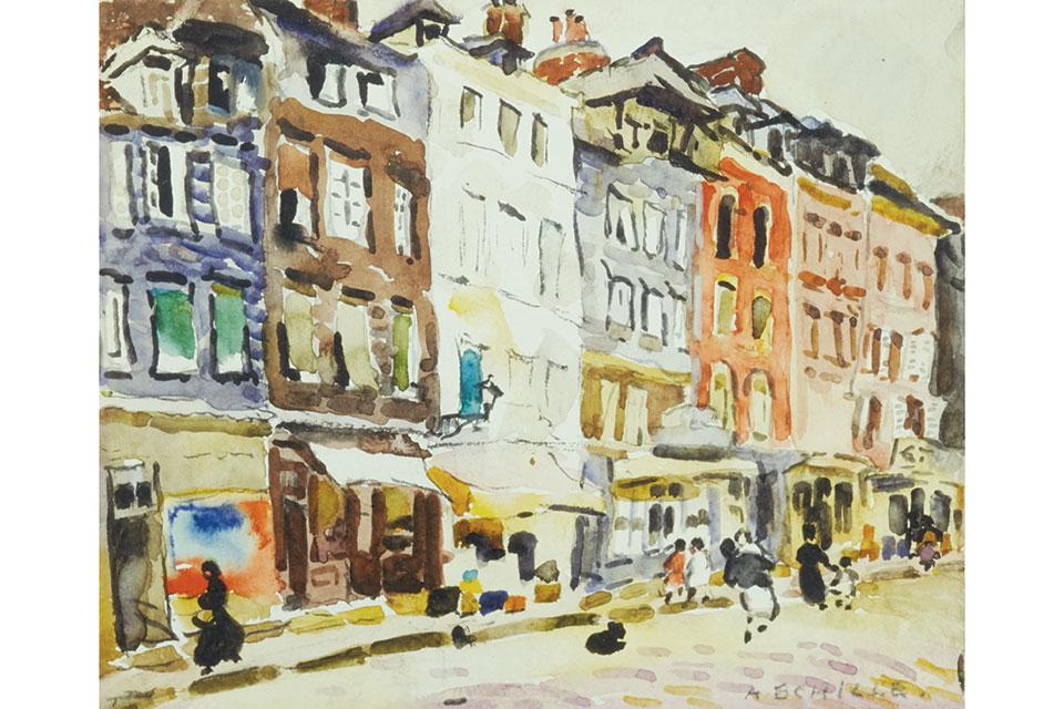 "Alice Schille's ""Shop Windows, New York"""