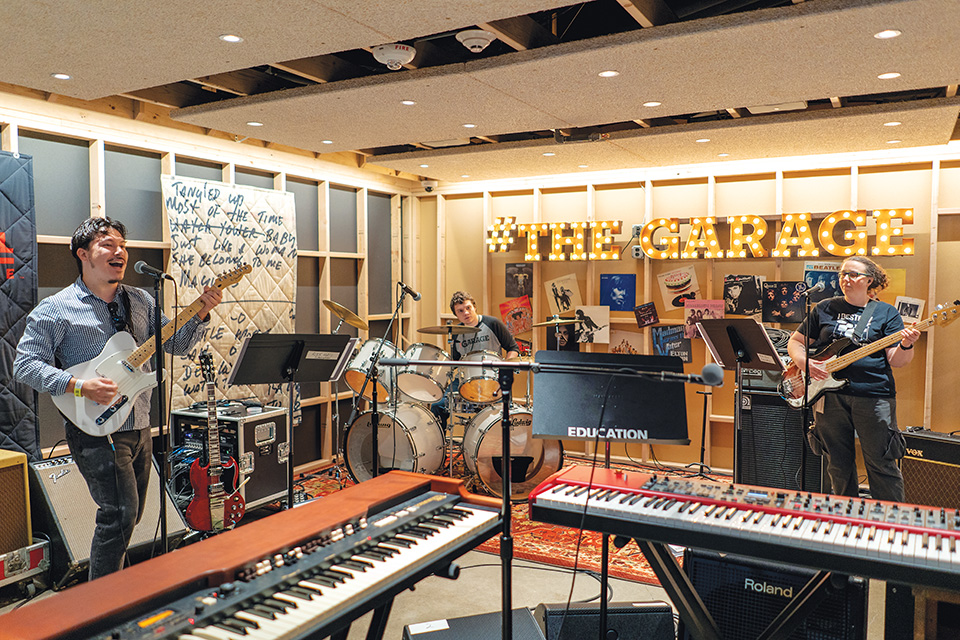 The Garage at Rock and Rock Hall of Fame (photo by Eduardo Olmeda)