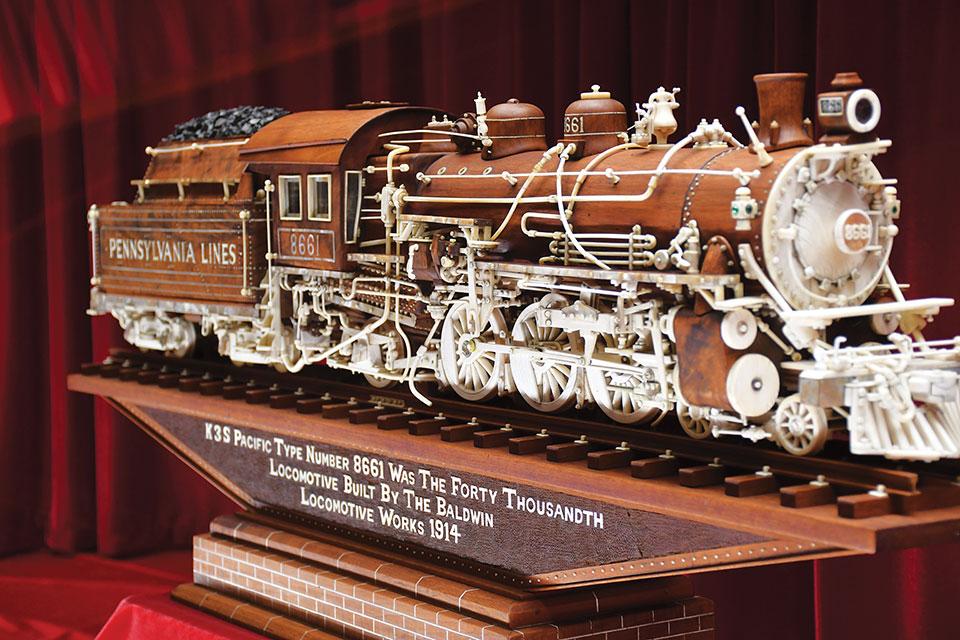Warther Trains K3S Pacific 8661 Locomotive 1914