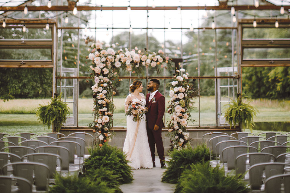 Willis Wedding Jorgensen Farm Ceremony Space (photo by Native Light Photography)