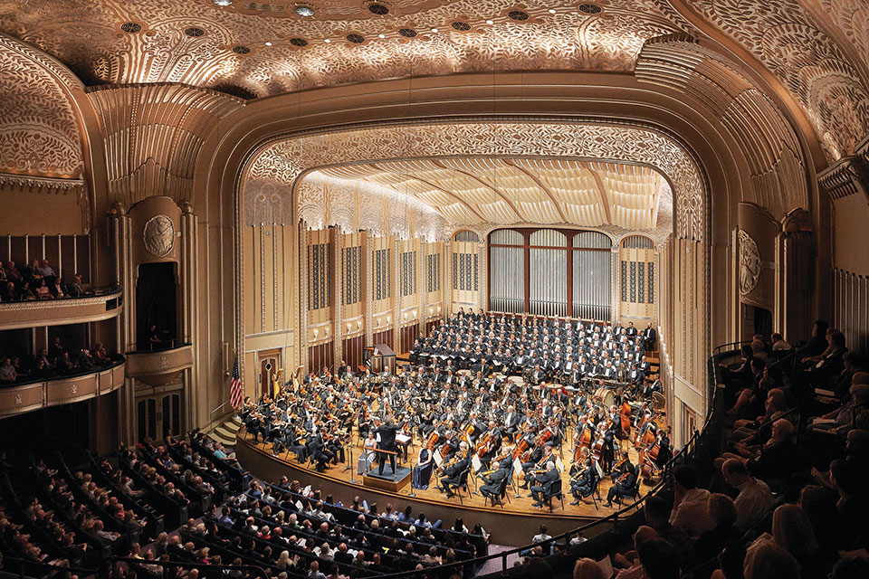 The Cleveland Orchestra (photo by Roger Mastroianni)