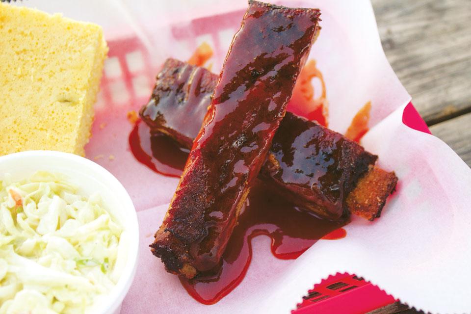 Eli's BBQ ribs
