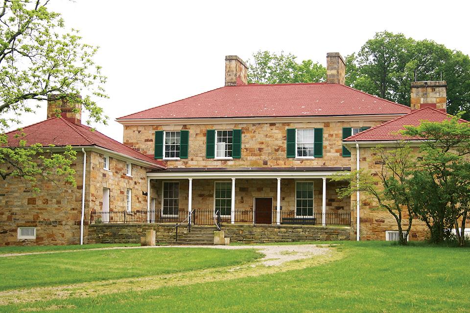 The Adena Mansion (photo courtesy of Adena Mansion)