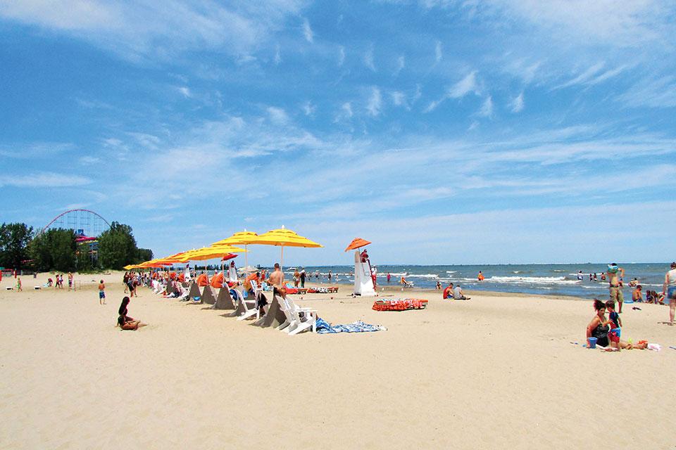 Cedar Point Beach (photo courtesy of Lake Erie Shores & Islands)