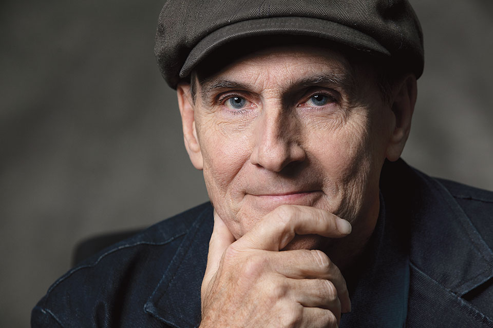 James Taylor (photo by Tyler Demogenes)