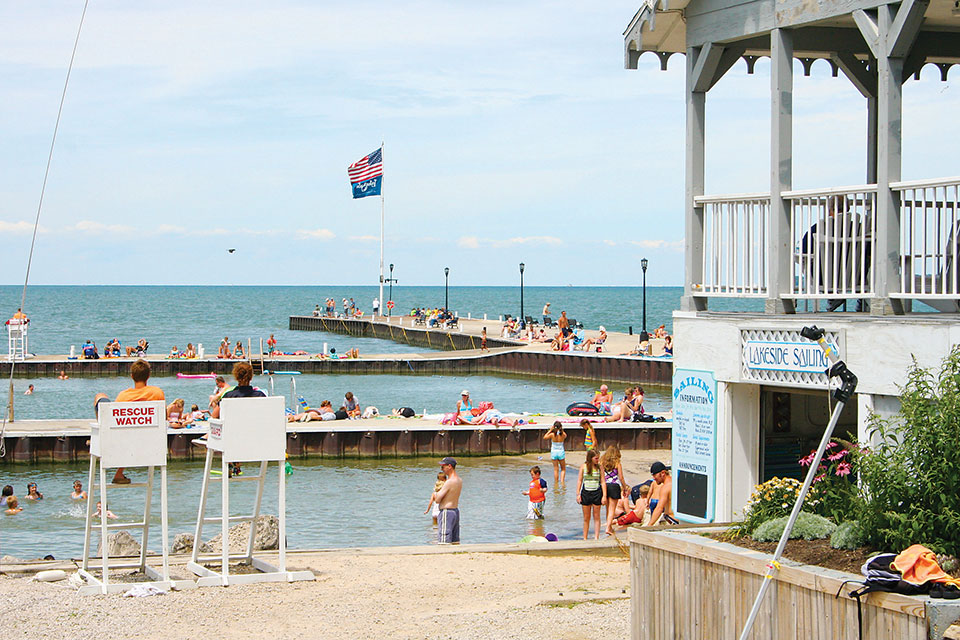 Lakeside Beach (photo courtesy of Lake Erie Shores & Islands)