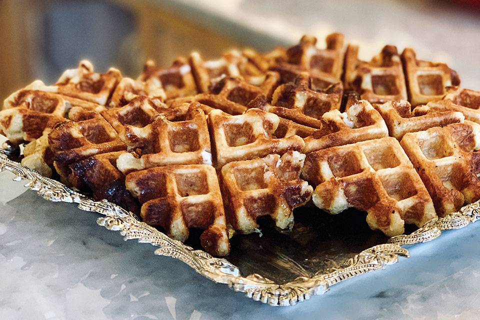 Le Torte Dolci Liege waffles (photo courtesy of Le Torte Dolci)