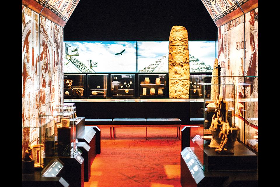 """Maya: The Exhibition"" at Cincinnati's Museum Center"