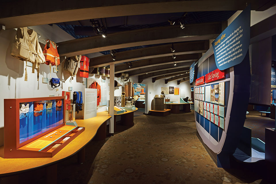 National Museum of the Great Lakes interior (photo by Chris Winters)