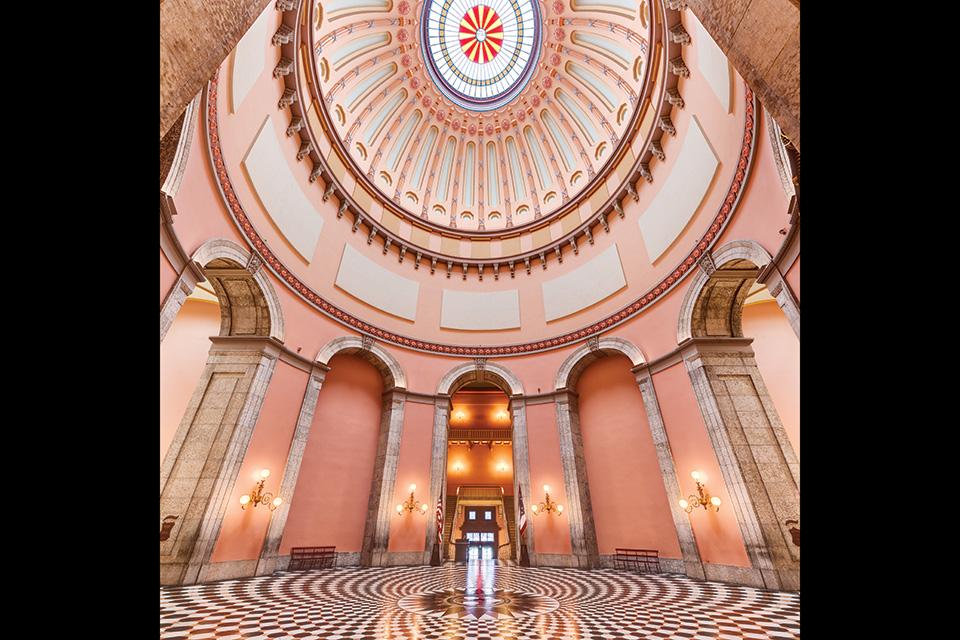 Ohio Statehouse Rotunda (photo by David FitzSimmons)