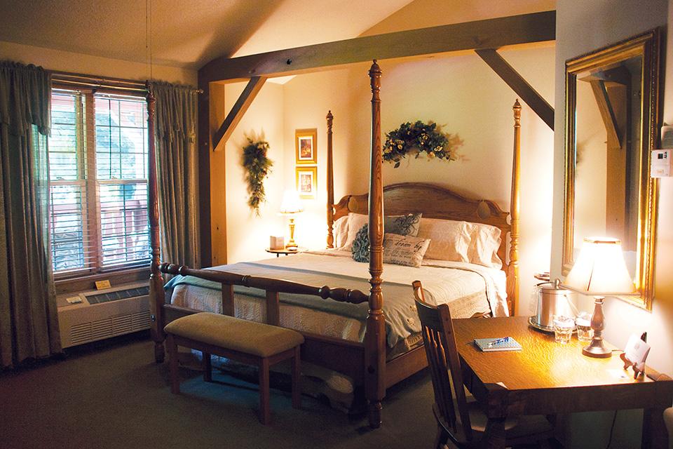 The Barn Inn Bed & Breakfast guest room