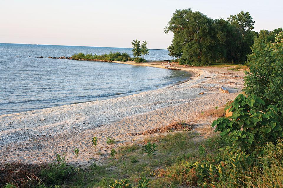 Sherod Park Beach (photo courtesy of Lake Erie Shores & Islands)