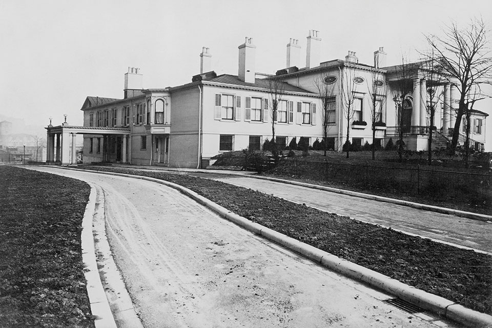 Historic photo of the Taft Museum of Art (photo courtesy of Taft Museum of Art)