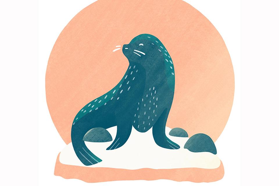 Enjoy the Columbus Zoo (illustration by Diana Bolton)