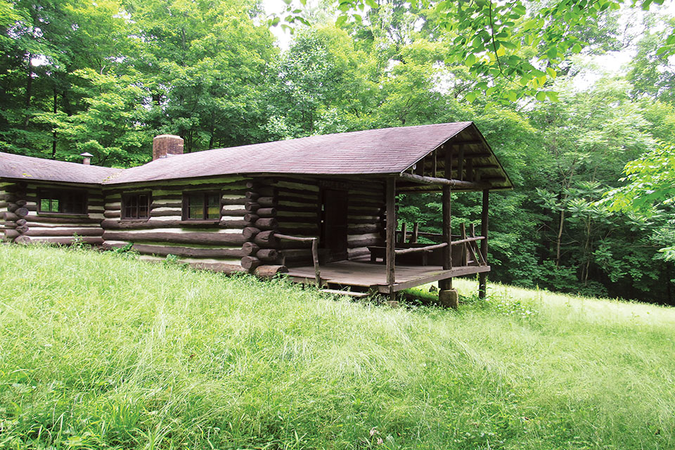 Camp Tuscazoar cabin (photo courtesy of Camp Tuscazoar)
