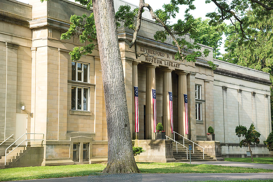 Rutherford B. Hayes Presidential Library & Museums exterior (photo courtesy of Rutherford B. Hayes Presidential Library & Museums)