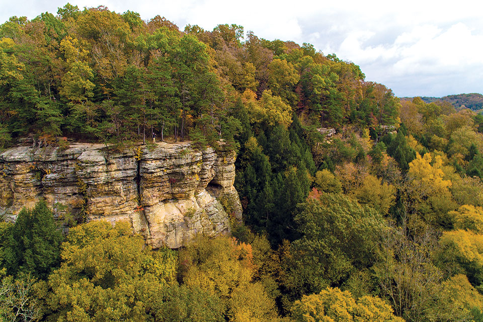 Conkles Hollow (photo courtesy of the Ohio Department of Natural Resources)