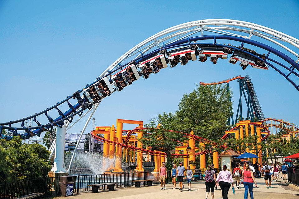 Cedar Point's Corkscrew