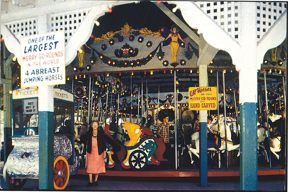 Cedar Point's Midway Carousel