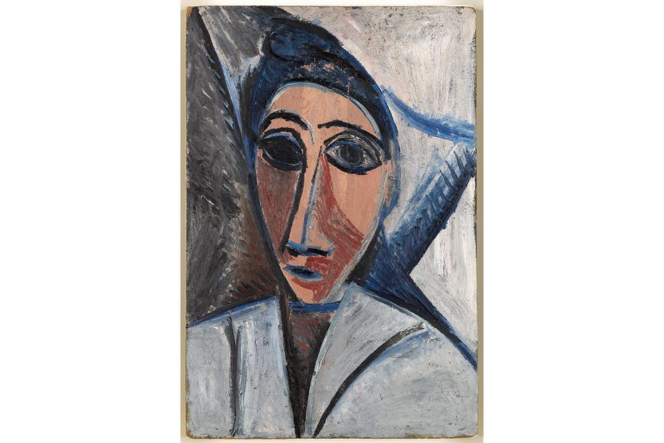 """Pablo Picasso's """"Bust of Woman or Sailor"""" (Study for Les Demoiselles D'Avignon)"""