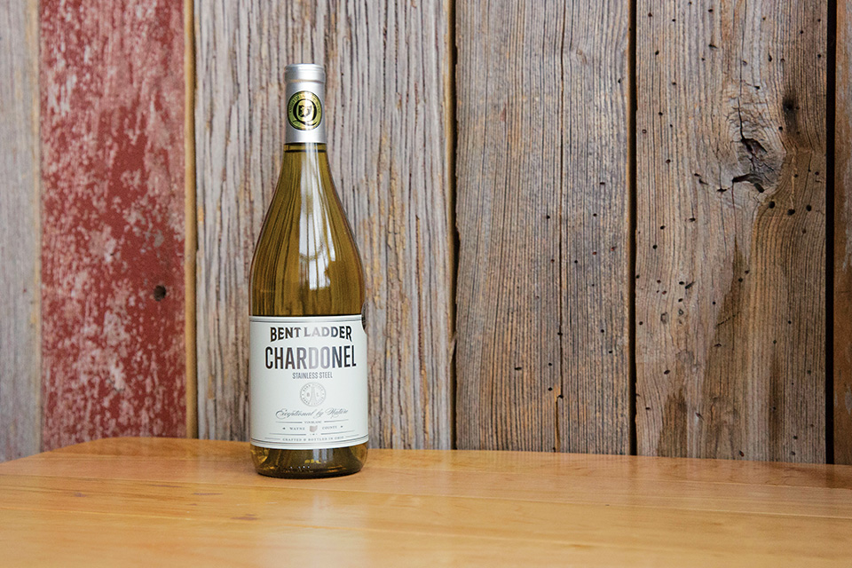 Bent Ladder Chardonel bottle (photo courtesy of Bent Ladder)