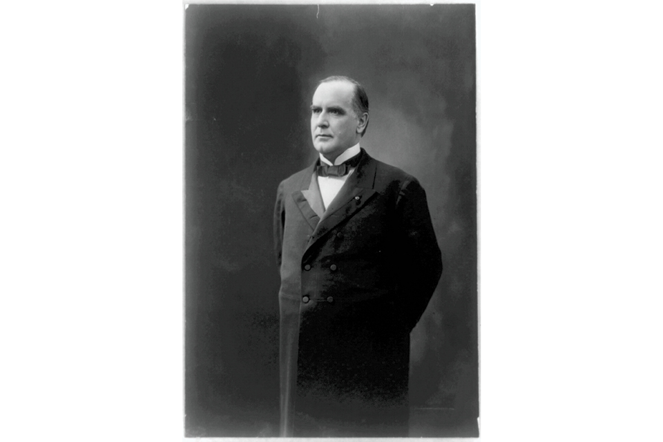 William McKinley portrait