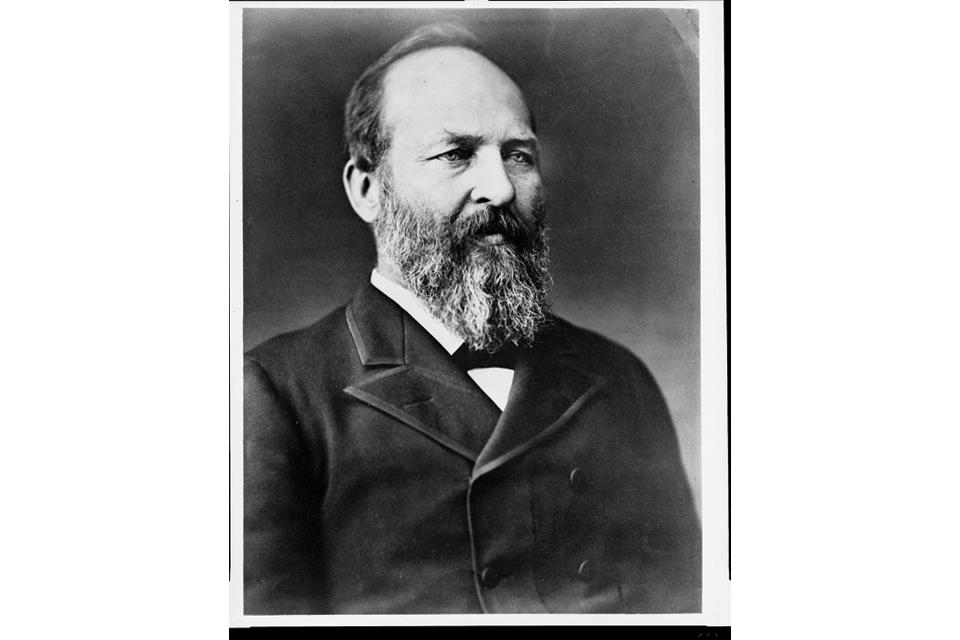 James A. Garfield portrait