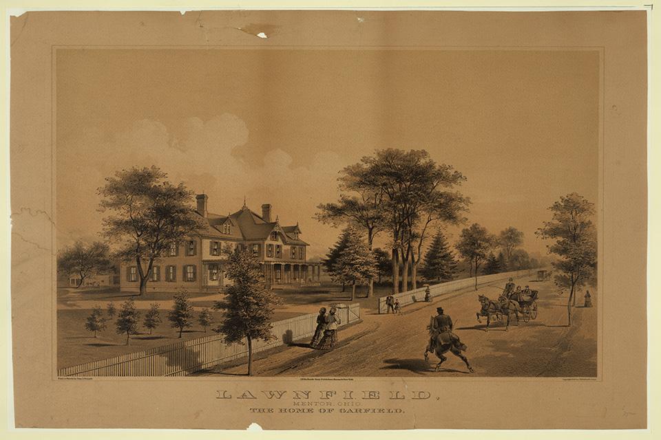 James A. Garfield's Lawnfield