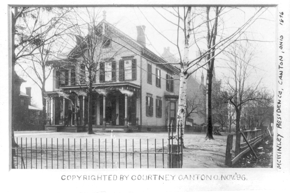 William McKinley's Canton home