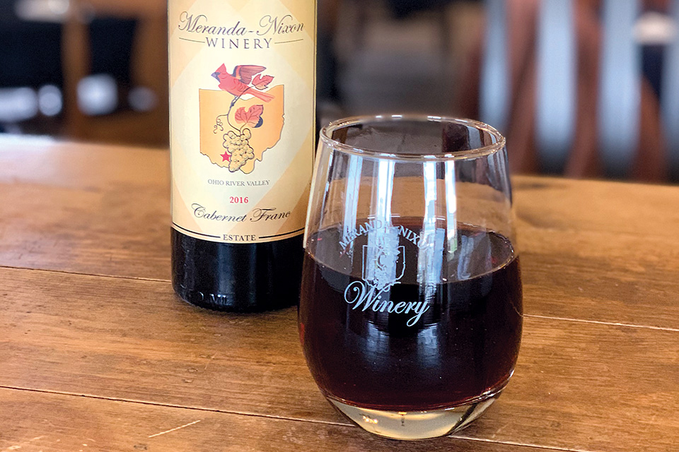 Meranda-Nixon Winery's Cabernet Franc (photo courtesy of Meranda-Nixon Winery)