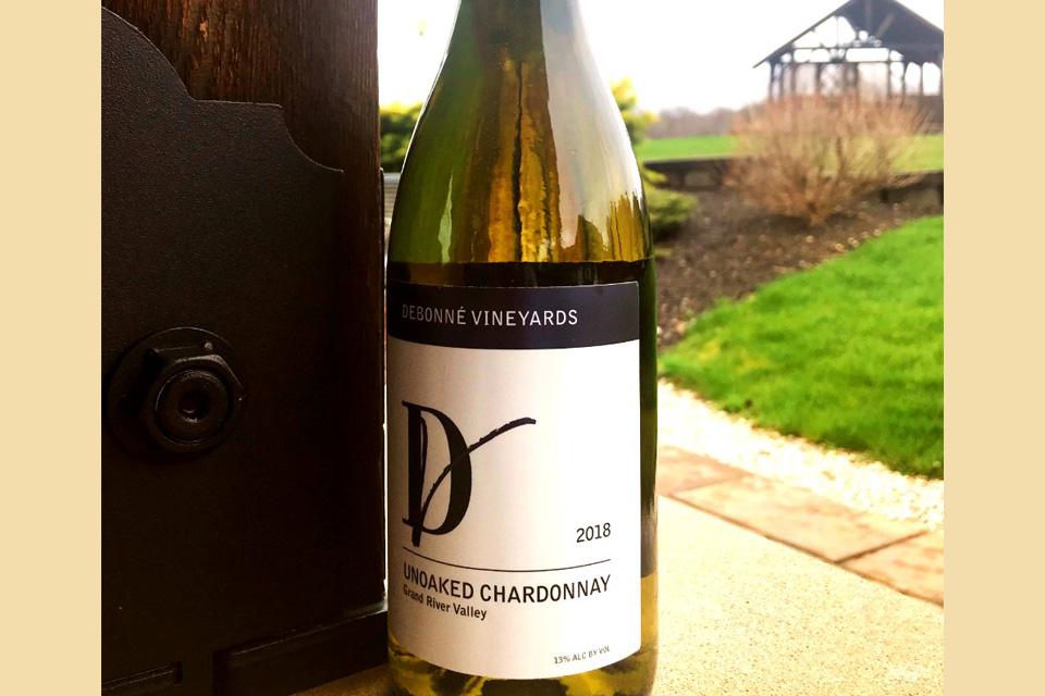 Unoaked Chardonnay (photo courtesy of Debonne Vineyards)