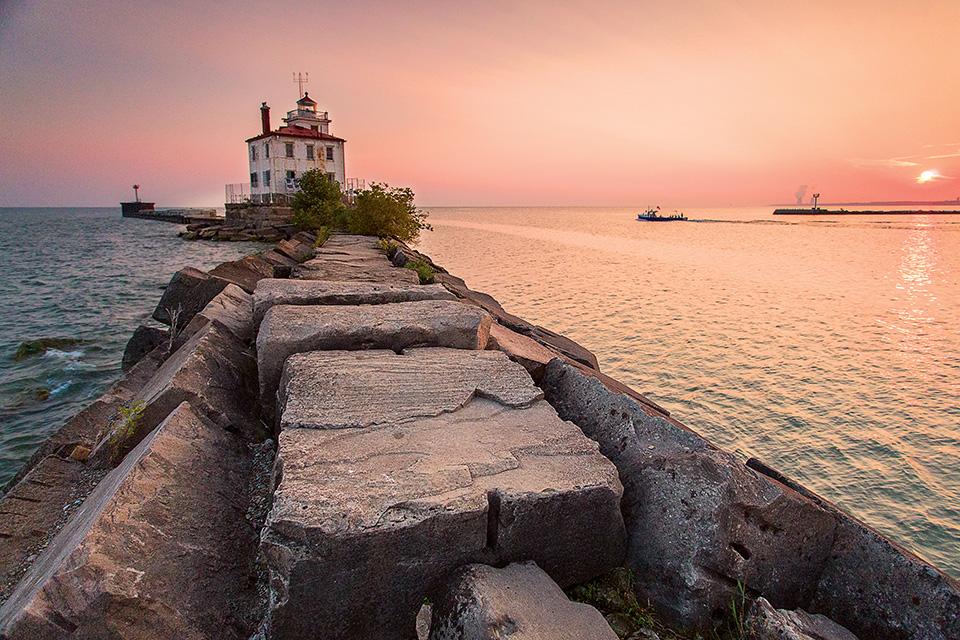 Fairport Harbor West Breakwater Lighthouse