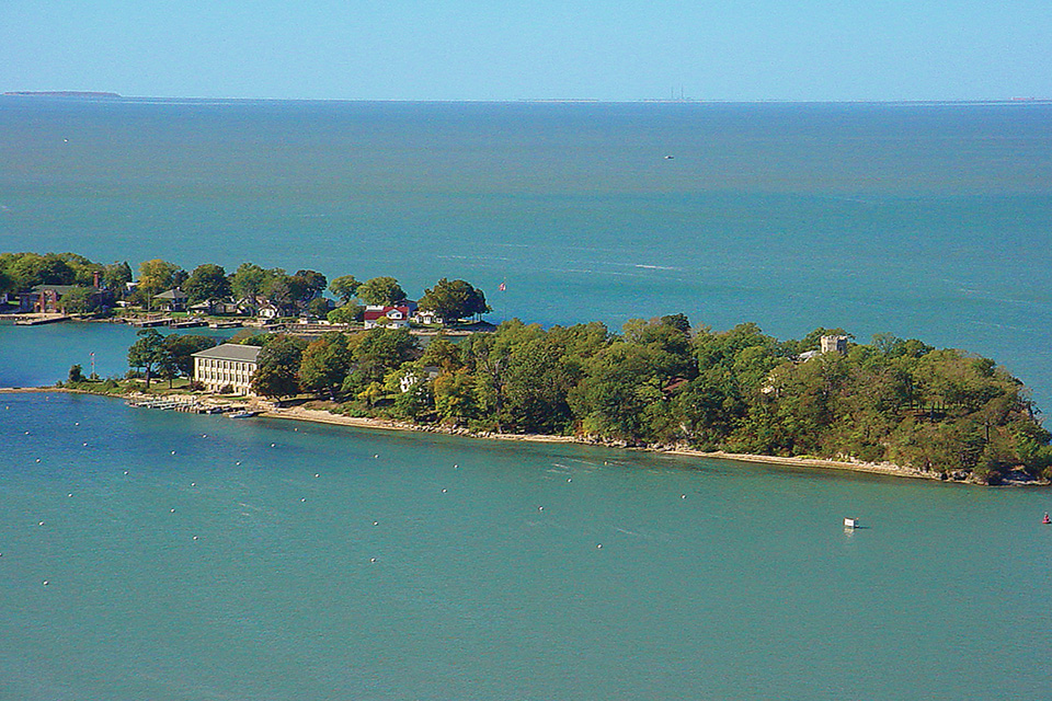 Gibraltar Island (photo courtesy of Lake Erie Shores and Islands)